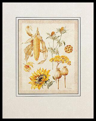Krzysztof Kumorek Harvest I Poster Bild Kunstdruck im Alu Rahmen schwarz 50x40cm