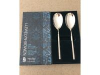 Arthur Price Llewelyn set of 2 serving spoons