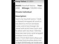 Grab a bargain!!!! Diesel vectra