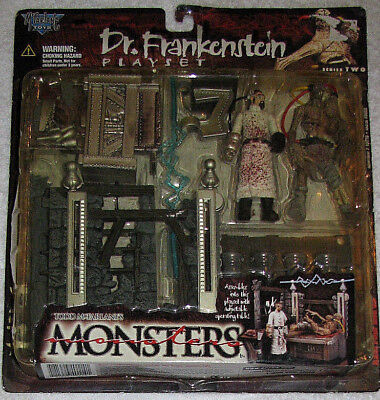 MC FARLANE MONSTERS PLAYSET DR. FRANKENSTEIN SERIES TWO NEU OVP SEHR RAR