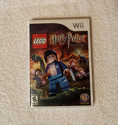 Wii Lego Harry Potter Years 5-7