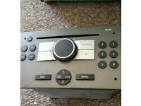 Vauxhall vectra cd player