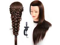 Hairdressers Training Head With Clamp Included