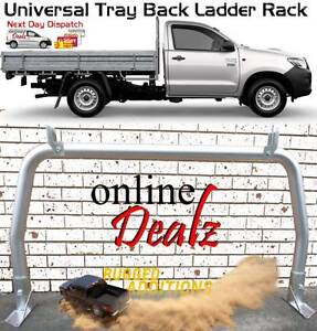 "UNIVERSAL 3"" TRAY BACK LADDER RACK TRUCK REAR ALUMINIUM 920 X 174 Castle Hill The Hills District Preview"