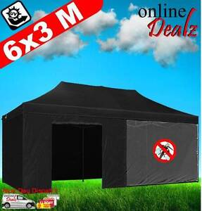 6x3 4 side Outdoor Gazebo Pop Up Folding Marquee Party Stall Tent Castle Hill The Hills District Preview