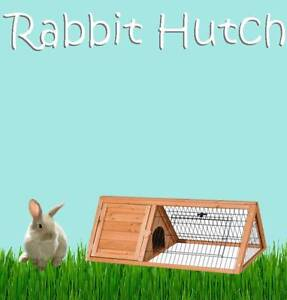 DELUXE WOODEN RABBIT HEN GUINEA PIG FERRET HUTCH - BRAND NEW! Castle Hill The Hills District Preview