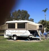 Jayco camper trailer Swan Outback 30th anniversary edition 2005 Sunrise Beach Noosa Area Preview