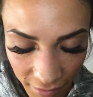 Certified lash tech! Quality volume, classic, and hybrid lashes