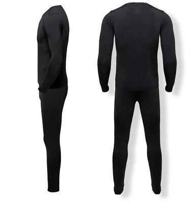 US Winter Underwear Base Layer Compression Long Johns Thermal Fleece Men's Set ()