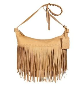 902afbe74f9b Ralph Lauren Leather Tan Fringe Purse  700 USD