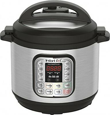 Instant Pot IPDUO80 7in1 Programmable Electric Pressure Cooker, 8 Qt