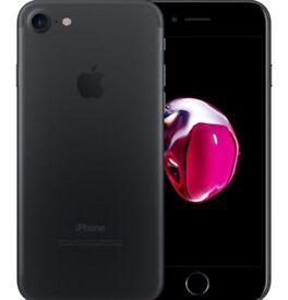 Matte Black iphone 7 32 GB *USED*