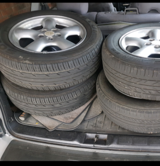 Forester 5x100 rims