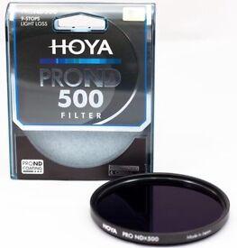 HOYA 52mm 500 (9 stop) filter