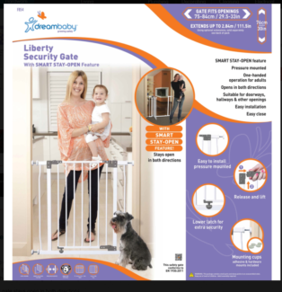 Baby-proof gate