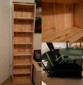 Tv stand & book/DVD shelving
