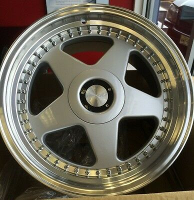 "17"" AVANT GARDE M240 SILVER 17X8.5 WHEELS FIT BMW E30 E36 E38 E39 E60 (Set 4) for sale  Santa Fe Springs"