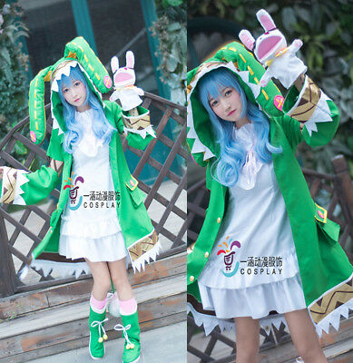 DATE·A·LIVE Yoshino Kawaii Coat&Dress&Shoes Set Halloween Cosplay Unisex - Yoshino Halloween