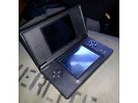 Black Nintendo DS Lite - Includes free super mario game