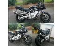 Yamaha fazer 1000 fz1 not R1 r6 gsxr bandit street fighter cbr
