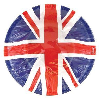 8 Union Jack Party Paper Soup Disposable Bowls British Celebrations](Paper Soup Bowls)