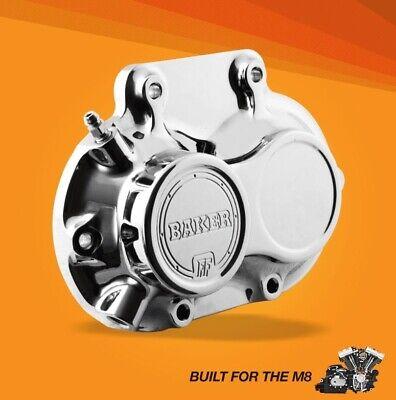 Baker Drivetrain M8-10601-A Chrome Hydraulic Side Cover 17-19 Harley Milwaukee-8