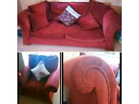 3 seater sofa and armchair FREE