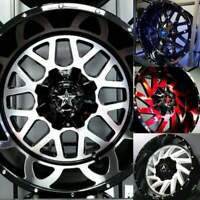 TRUCK RIMS & TIRES -- BEST SELECTION IN TOWN! -- WITH FINANCING!