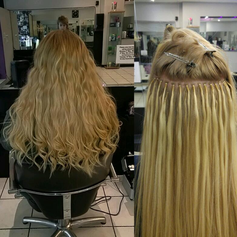 Hair Extensions By Cj At Bliss Hair Beauty Trained In Nano
