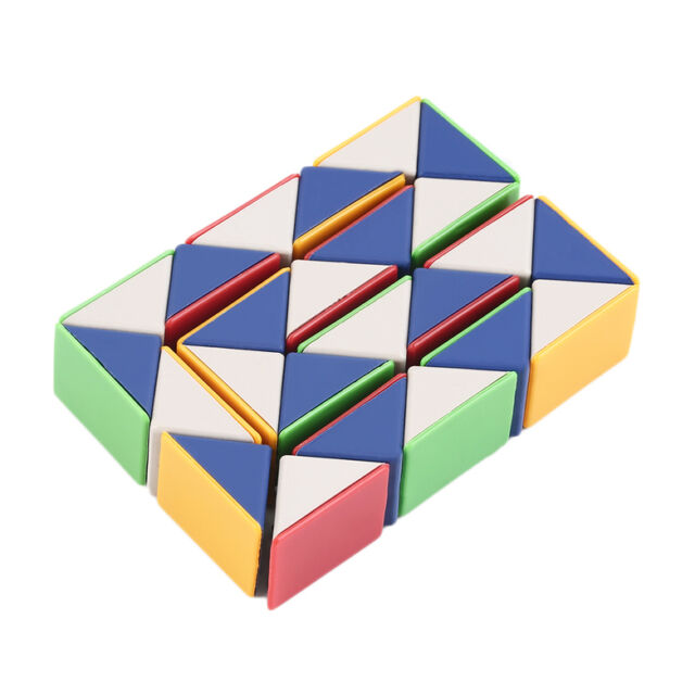 Snake Magic 3D Cube Game Puzzle Twist Toy Party Travel Family Child Gift IM