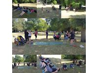 Buggy fit bootcamp classes in Wanstead Redbridge e11