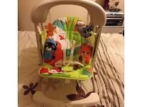 Fisher price rainforest friends baby swing