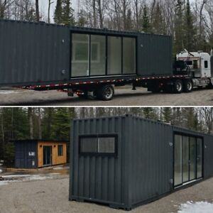 Custom Shipping Container Homes