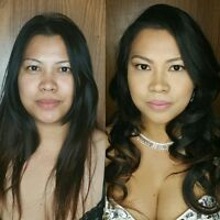 Makeup Application & Hair Styling Services