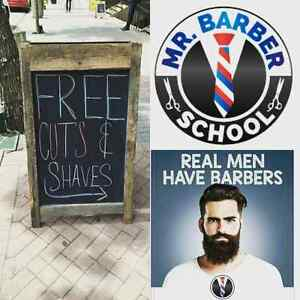 Free Hair cuts today