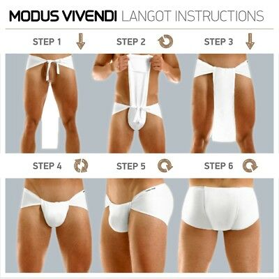 (Indian Traditional Underwear Langot loincloth Cotton White at WHOLESALE Fre Ship)