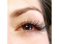 Eyelashes extension natural , 2D, 3D.
