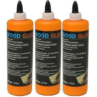 - 480GMS Super Strong Wood Glue Adhesive Transparent Waterproof Multi Purpose
