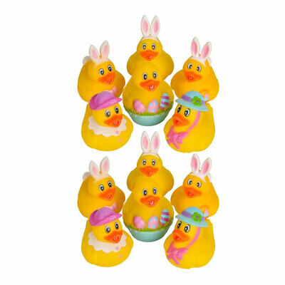 Rhode Island Novelty - Rubber Ducks - EASTER DUCKIES (1 Dozen) - New](Novelty Rubber Ducks)