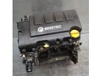 Vauxhall engines Fits All : 1.4 Astra / Corsa / Meriva Petrol A14xer engine LOW MILES - EnginesOD