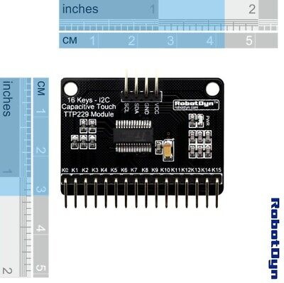 16 Key Capacitive Touch Ttp229 Module I2c For Arduino Robot Dyn Science Project