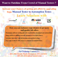 GREAT OPPORTUNITY FOR MANUAL QA TO UPGRADE ON AUTOMATION TESTING