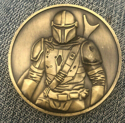 Star Wars - MANDALORIAN - Collectors Movie Coin Medallion