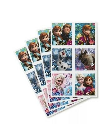 Disney Frozen Stickers Set 72 Per Pack Birthday Party Favors and Craft Activi... - Crafts And Favors