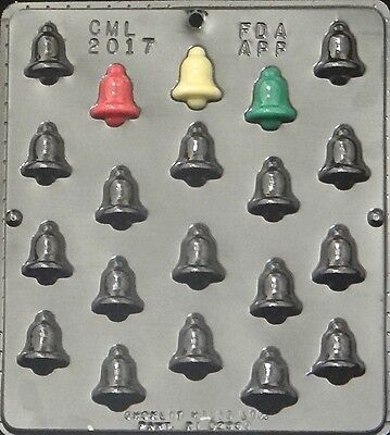 Christmas Bell Bite Size Chocolate Candy Mold Christmas  2017 NEW](Christmas Chocolates)