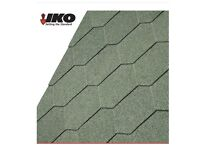IKO Armourshield Hexagonal Roofing Shingles (Forest Green) - 3m2 Pack x 4 total 12m2 for sale.