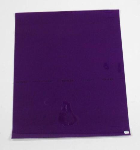 Lee Filters #048 Rose Purple *Good for emulating evening* Lighting Gel Sheet