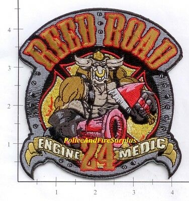 Texas - Houston Station 24 TX Fire Dept Patch - Reed Road