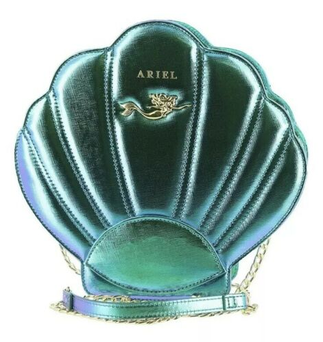 Loungefly Disney Ariel Shell Little Mermaid Iridescent Teal