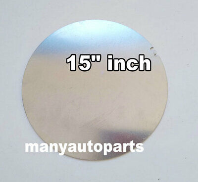 15 Inch Dia. 381mm Aluminum Disc Circle Blank Plate Flat Sheet Round 2mm Thick
